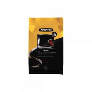 Fellowes 9967404 25 Screen Cleaning Wipes