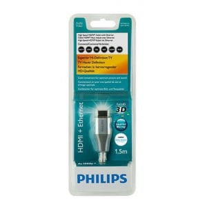 Philips SWV3481S/10 500 Series 1.5m HDMI - Ethernet HDMI Cable