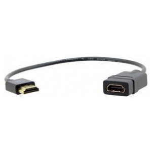 Unbranded HDM010  HDMI Male to HDMI Female Cable 45 cm Long