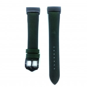 Fitbit Charge 3 Replacement Leather Strap Band - Green