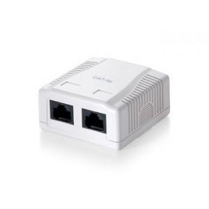 Equip 235112 Wallbox, Cat5E UTP 2-port