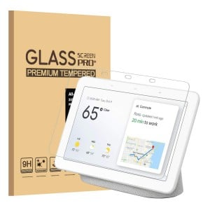 GOOGLE Home Hub Tempered Glass Screen Protector Full Screen Coverage