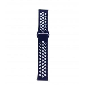 Fitbit Versa Multi-colour Silicone Watch Strap -Blue & White