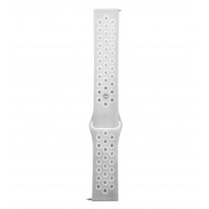 Fitbit Versa Multi-colour Silicone Watch Strap -Grey & White