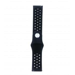 Fitbit Versa Multi-colour Silicone Watch Strap -Black