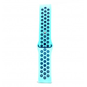 Fitbit Versa Multi-colour Silicone Watch Strap -Turquoise & Blue
