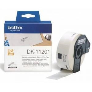 Brother MDK11201 Standard Address Label (29mm X 90mm) 400 Labels Per Roll