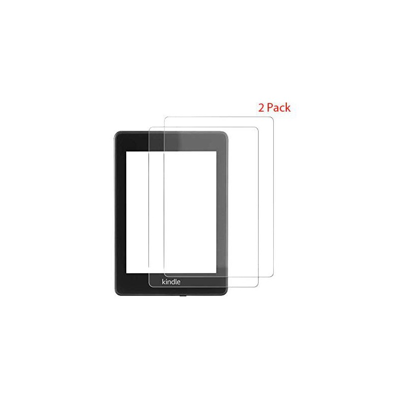 Tempered glass screen Protector for Kindle Paperwhite 2018 10th gen - 2  Pack - GeeWiz