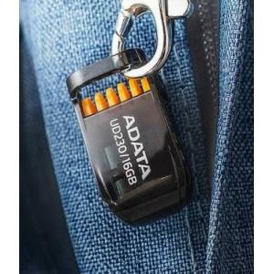 Adata FD-A16GUD230B 16Gb Black USB 2.0 Flash Drive