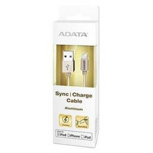 Adata AMFIAL-100CMK-CGD Gold Apple Sync/charge Cable
