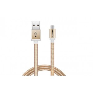 Adata AMUCAL-100CMK-CGD Android Gold Sync/charge Cable