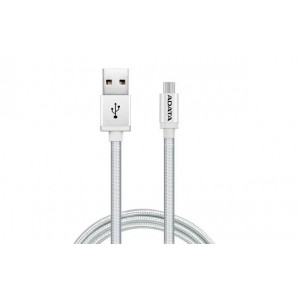 Adata AMUCAL-100CMK-CSV Android Silver Sync/charge Cable