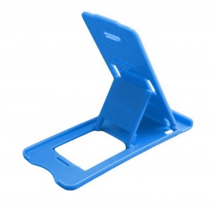 Universal Adjustable Mobile Phone Holder Stand - Blue