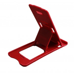 Universal Adjustable Mobile Phone Holder Stand - Red