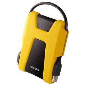 Adata EH-A1000HD680Y Yellow 1Tb External Hard Disk Drive