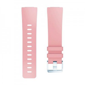 Fitbit Versa Silicone Watch Strap (Large) -Salmon Pink