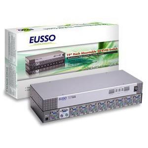 Eusso UKS8108-RO 8-Port PS/2 KVM Switch Rackmount