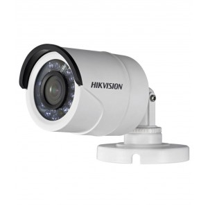 Hikvision DS-2CE16C0T-IR 720P Turbo HD IR Outdoor Bullet Analogue Camera (2.8mm Fixed Lens) with CVBS