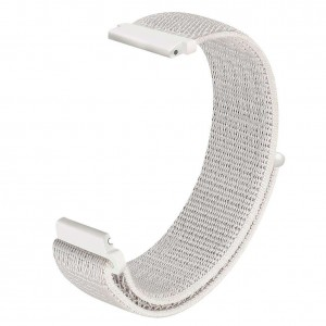 Fitbit Versa Woven Nylon Watch Strap -White