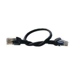Switchcom FL-C5-0.25-B Flylead - CAT5 - 0.25m - Black