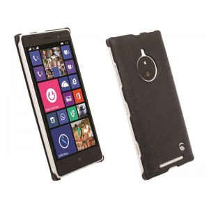 Krusell 90004 Malmo Cover for the Nokia Lumia 830 - Black