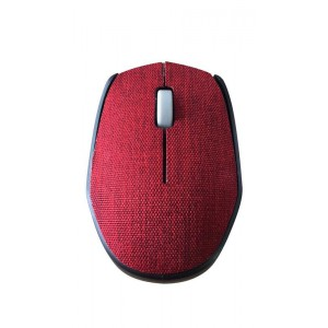 Ultra Link UL-WM218B Fabric Optical Wireless Mouse - Red
