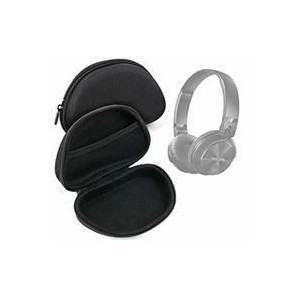 Tuff-Luv A1_354 Hardshell Universal Headphone Case with Netted Compartment - Black