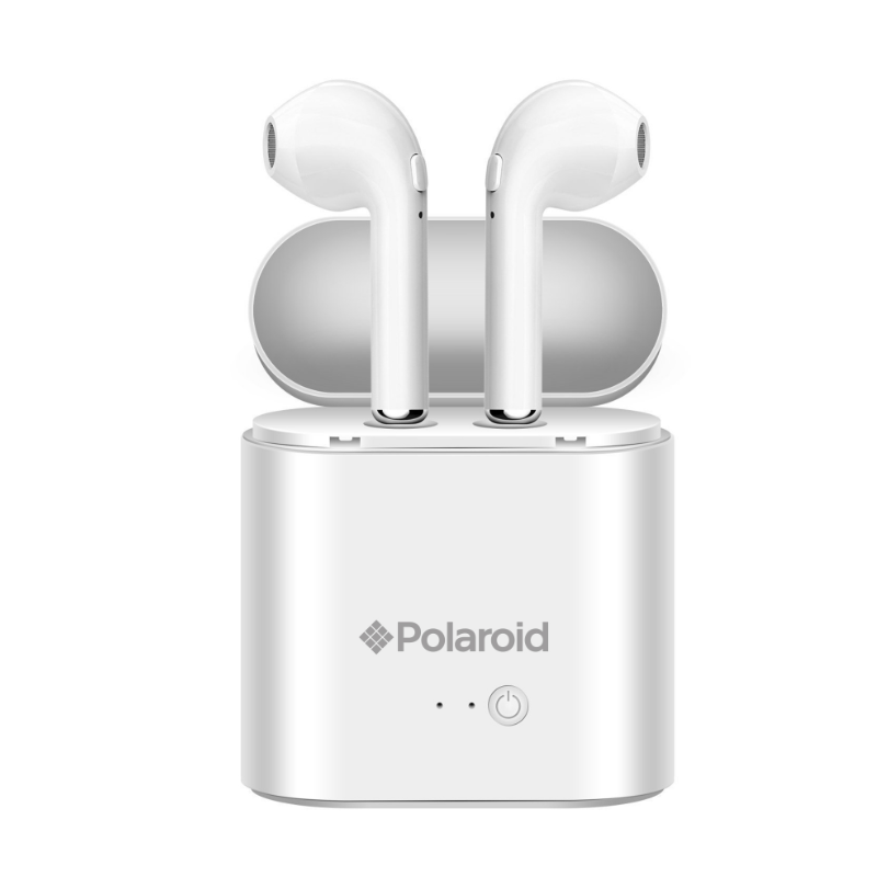 883f0e93699 POLAROID Bluetooth True Wireless Series Stereo Earbuds with Charging Dock