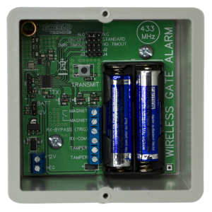 Sherlo Gate Alarm Code Hopping Transmitter - 403Mhz