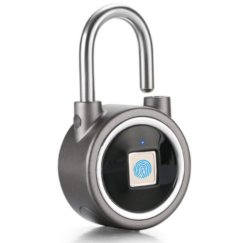e744d5bea368 Smart Fingerprint Lock Bluetooth Phone App Padlock - GeeWiz