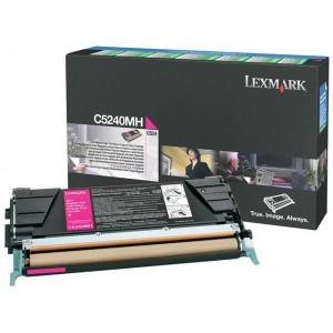 Lexmark LC5240MH Magenta High Yield Return Programme Toner Cartridge