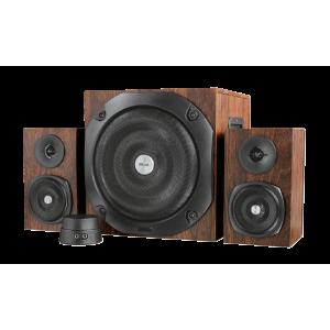 Trust TRS-20244  Vigor 2.1 Subwoofer Speaker Set - Brown