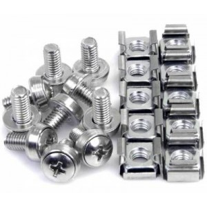 Kstar KS-LD-NS Cage Nut and Screws (50 Pack)