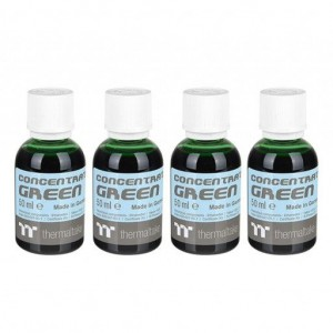Thermaltake CL-W163-OS00GR-A Premium Concentrate - Green (4 Bottle Pack)