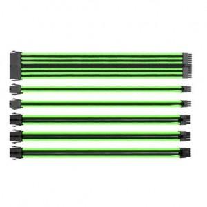 Thermaltake AC-034-CN1NAN-A1 TtMod Green & Black Sleeve Cable