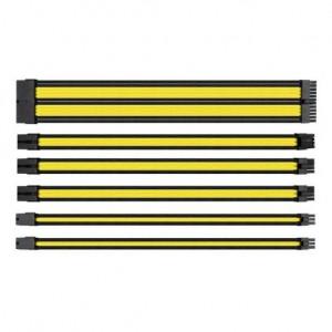 Thermaltake AC-047-CN1NAN-A1 TtMod Black / Yellow Sleeve Cable
