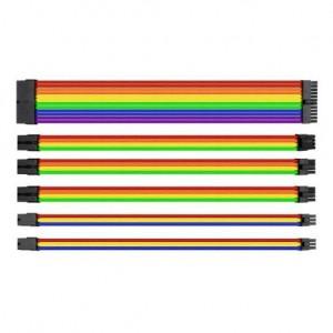 Thermaltake AC-049-CNONAN-A1 TtMod Rainbow Sleeve Cable