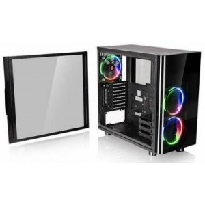 Thermaltake CA-1H8-00M1WN-01 View 31 Tempered Glass RGB Edition ATX Mid Tower Chassis