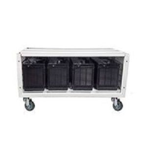 RCT Modular Battery Bank Cabinet Enclosure for Inverter Systems