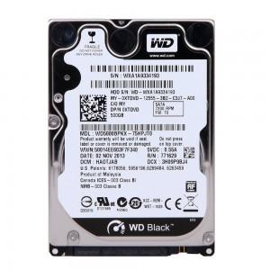 "WD Black 750GB 2.5"" SATAIII 16MB"