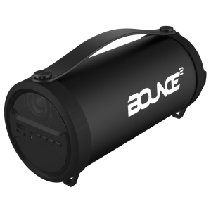 Bounce BO-3008-RA BoomBox Series Tube BT Speaker - Black