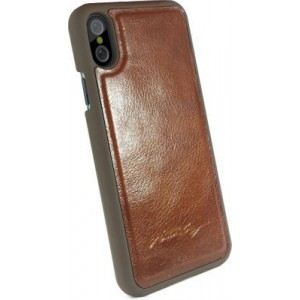 Tuff-Luv C3_93 Alston Craig Magnetic Shell for Iphone X / XS - Brown
