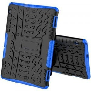 """Tuff-Luv  A1_382 Rugged Stand Case for Huawei MediaPad T3 10""""  - Blue"""