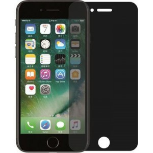 Tuff-Luv J8_42 Tempered Glass Privacy Screen Protector for Apple iPhone X (Dark)
