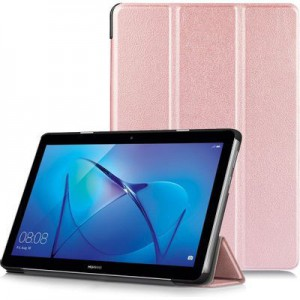 """Tuff-Luv  A1_381 Rugged Stand Case for Huawei MediaPad T3 10"""" - Pink"""