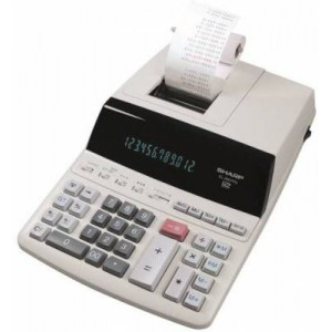 Sharp EL-2607PG-GYSE Premium Fast Printer Calculator - AC Powered