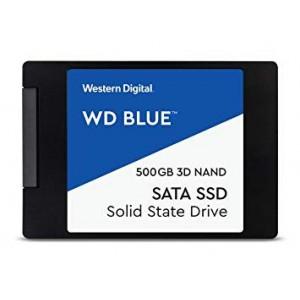 """WD BLUE 500GB 2.5"""" SATA3 3D NAND SSD"""