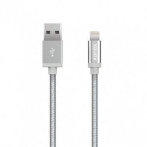 Kanex Lightning to USB Cable 1.2M Braided Aluminium Silver