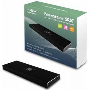 Vantec NST-M2STS3-BK ENCL M.2 SSD to USB 3.0 Enclosure