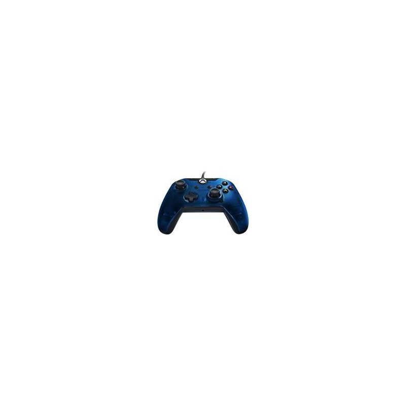 PDP PDP-048-082-AU-BL Xbox One Wired Controller - Midnight Blue